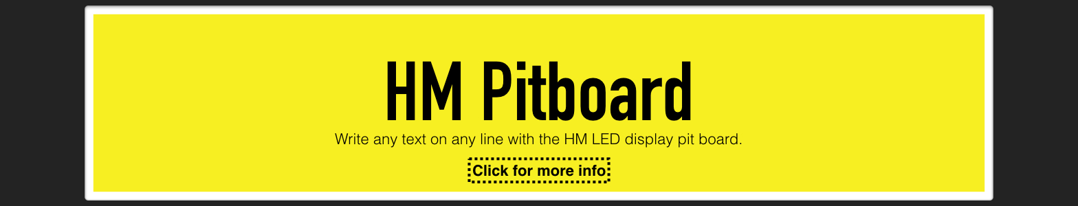 HM Pitboard