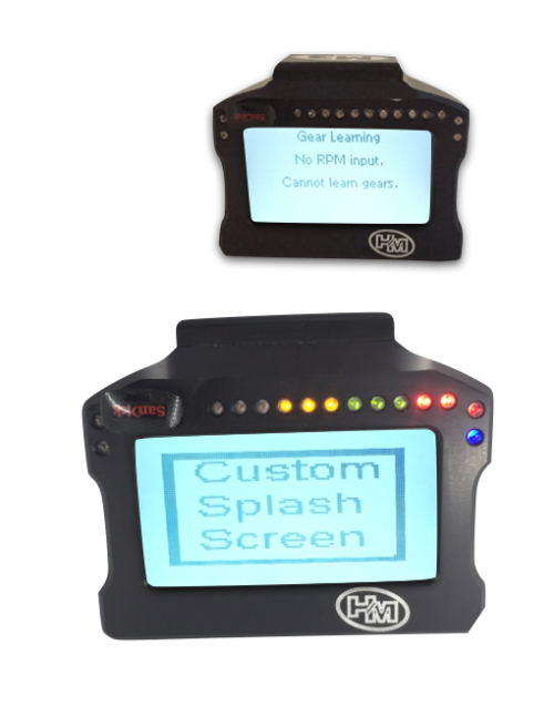 M3 Dash Screen